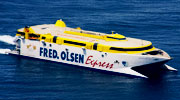 Fred olsen armas transmediterranea ferrys en canarias for Oficina armas lanzarote