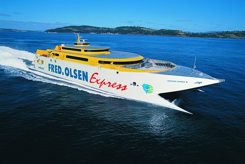 Ferry canary islands fleet fred olsen bonanzaexpress for Oficina fred olsen los cristianos