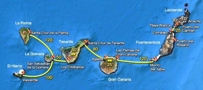Fred olsen armas transmediterranea ferrys en canarias for Horario oficina naviera armas arrecife
