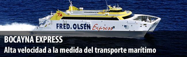 Bocayna express ferry canarias flota barcos fred olsen transporte mar timo en canarias - Transporte entre islas canarias ...