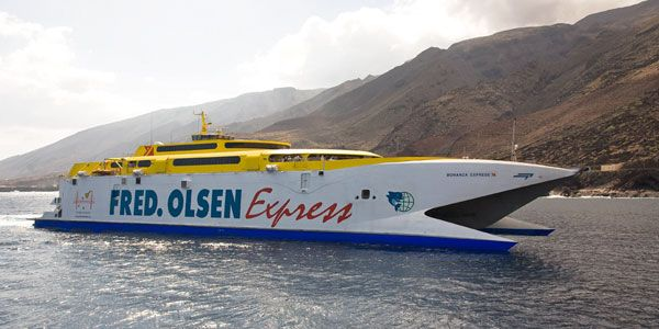 Fred. Olsen Express inaugura nueva ruta directa Las Palmas – Arrecife y refuerza los trayectos a Morro Jable con la llegada del catamarán más grande del mundo